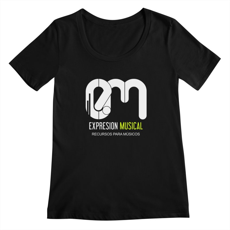 Playera EM  Women's Scoopneck by Expresión Musical