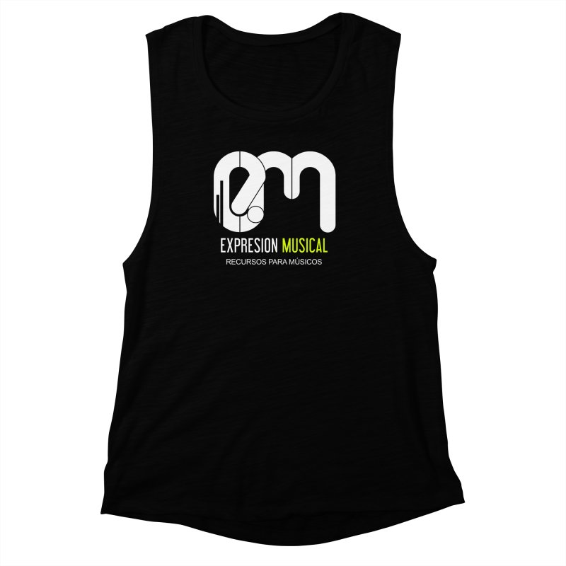 Playera EM  Women's Muscle Tank by Expresión Musical