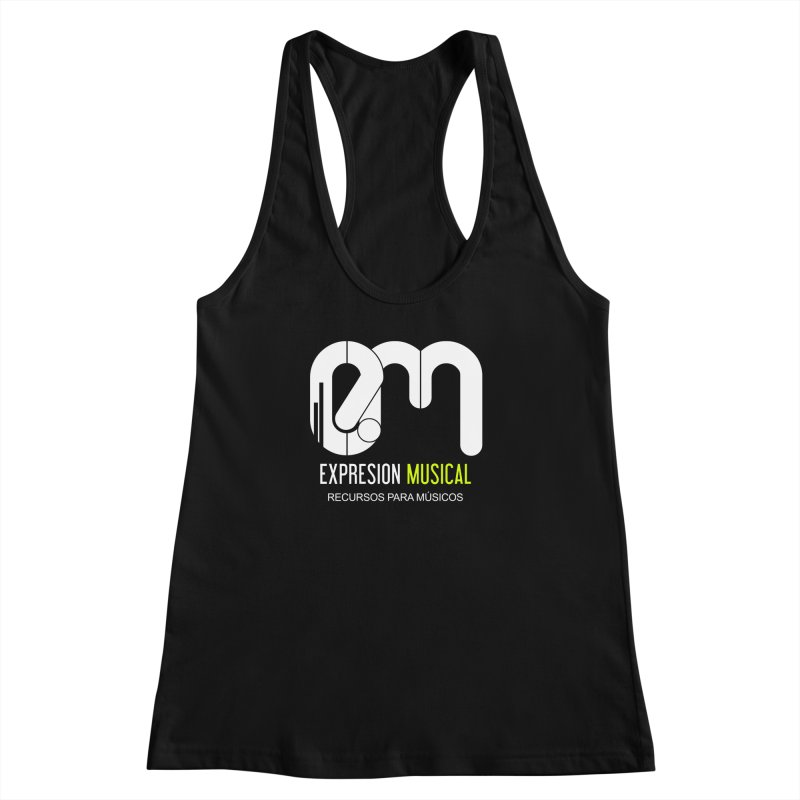 Playera EM  Women's Racerback Tank by Expresión Musical