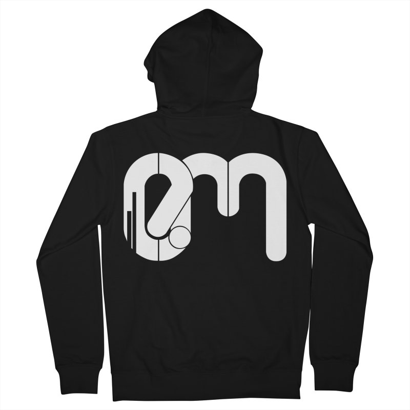 Playera Oficial EM in Men's Zip-Up Hoody Black by Expresión Musical