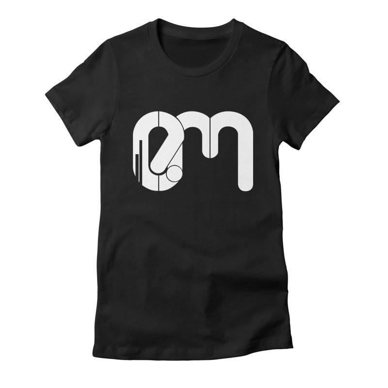 Playera Oficial EM in Women's Fitted T-Shirt Black by Expresión Musical