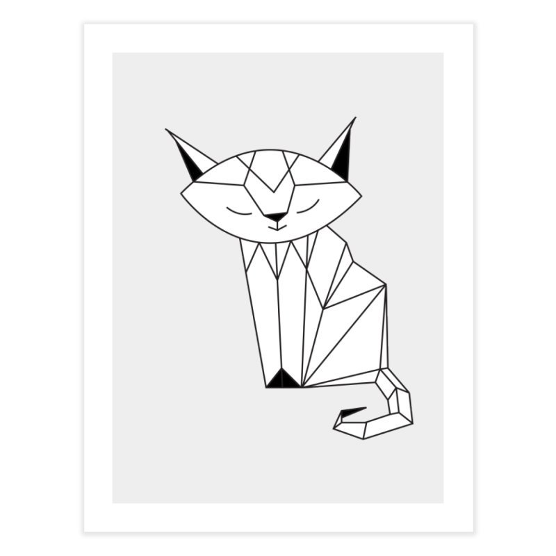Cherish Cat Home Fine Art Print by cherished
