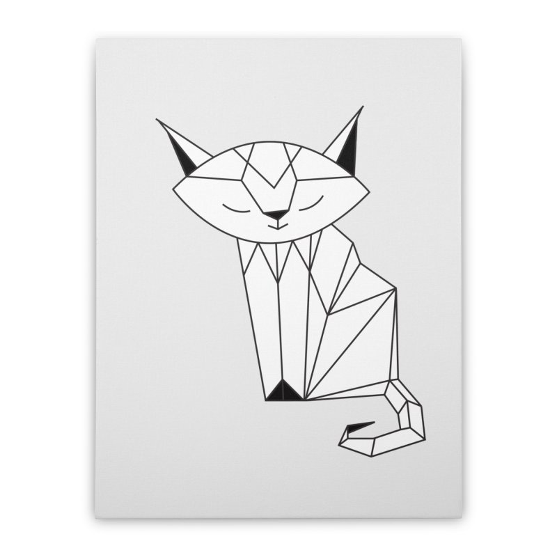 Cherish Cat Home Stretched Canvas by cherished