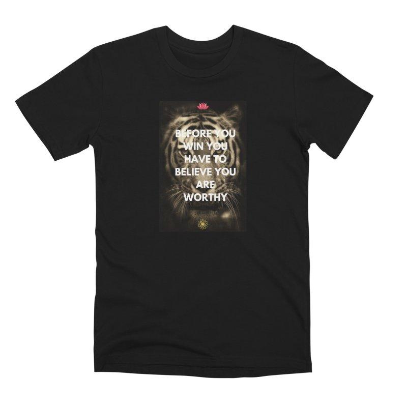 Believe!!! Men's T-Shirt by extraordinaryLifeProject's Artist Shop