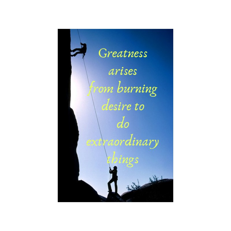 Achieve greatness Home Framed Fine Art Print by extraordinaryLifeProject's Artist Shop