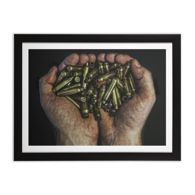 Your War. Home Framed Fine Art Print by