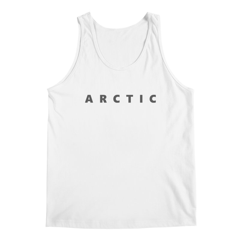 ARCTIC    text    dark Men's Regular Tank by Extreme Toast's Artist Shop