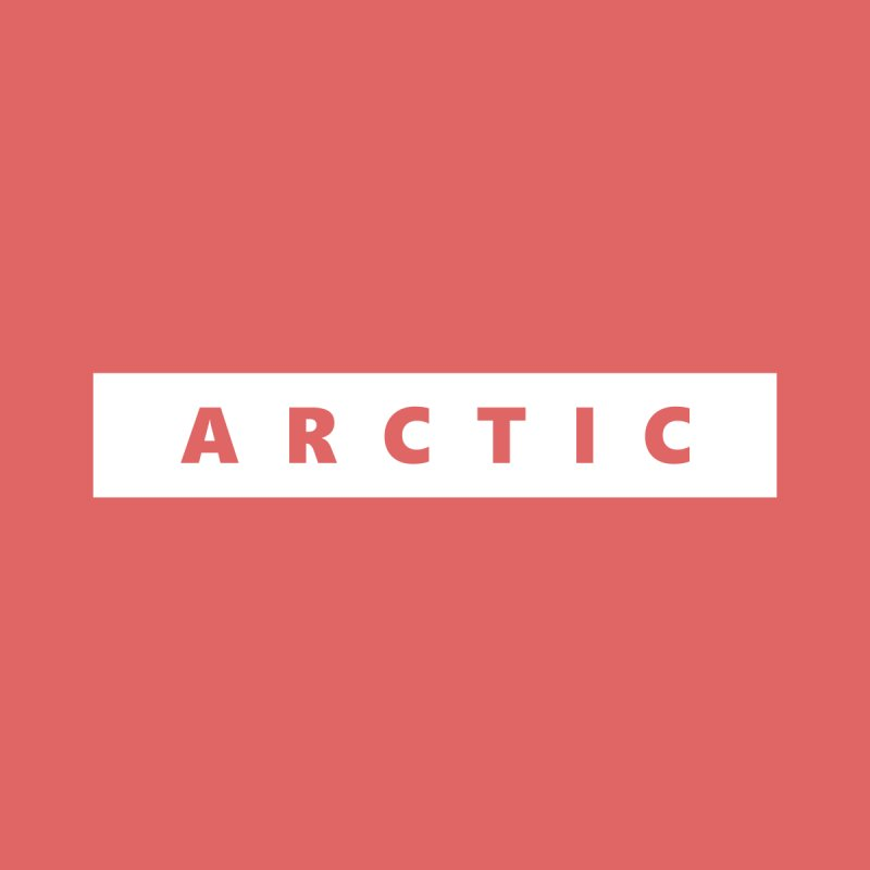 ARCTIC  |  logo  |  white Women's Pullover Hoody by Extreme Toast's Artist Shop