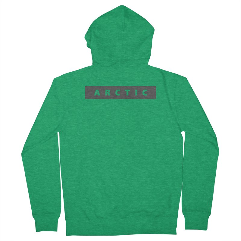 ARCTIC     logo     dark Women's French Terry Zip-Up Hoody by Extreme Toast's Artist Shop