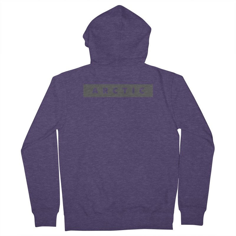 ARCTIC  |  logo  |  dark Men's French Terry Zip-Up Hoody by Extreme Toast's Artist Shop