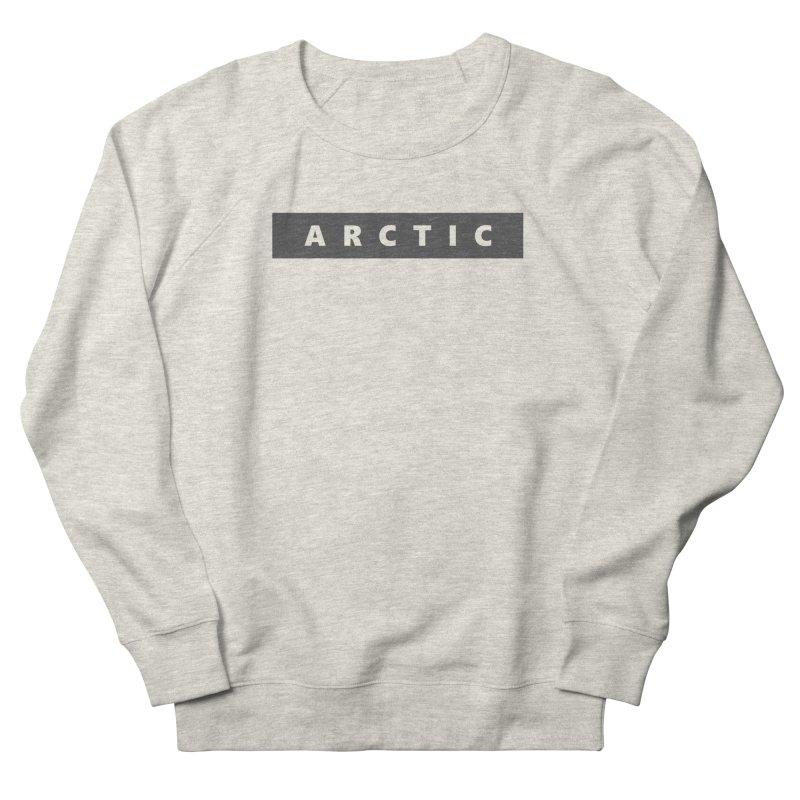 ARCTIC  |  logo  |  dark Men's French Terry Sweatshirt by