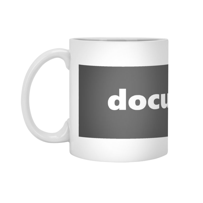 documentary  |  logo  |  mug Accessories Standard Mug by Extreme Toast's Artist Shop