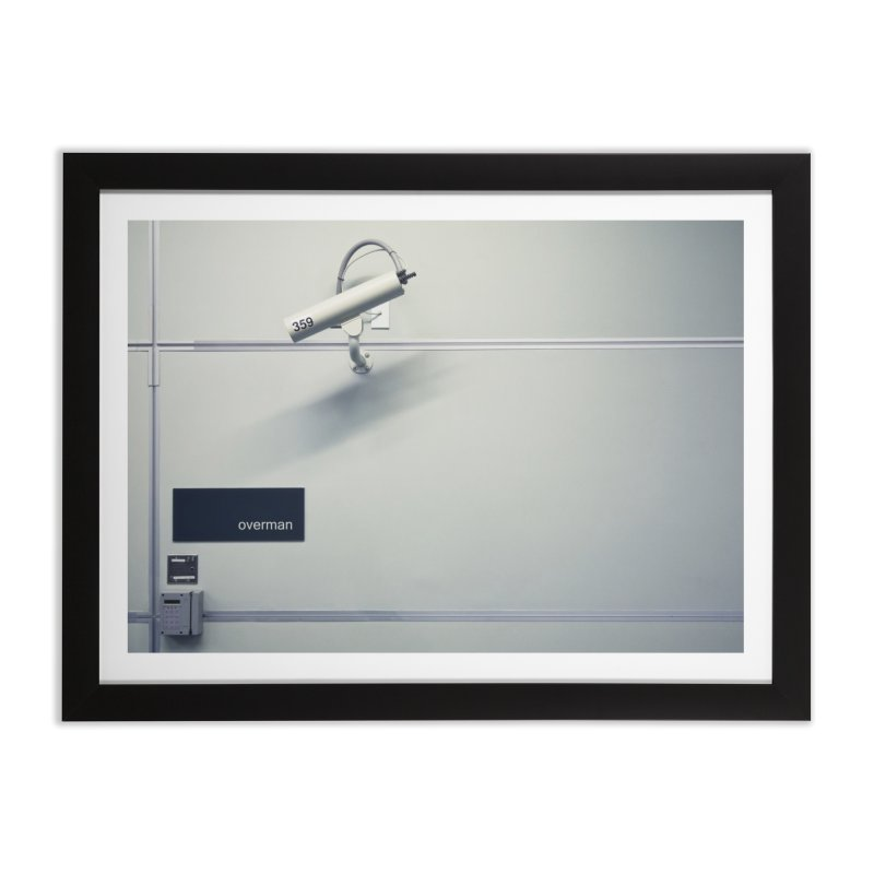 Overman. Home Framed Fine Art Print by