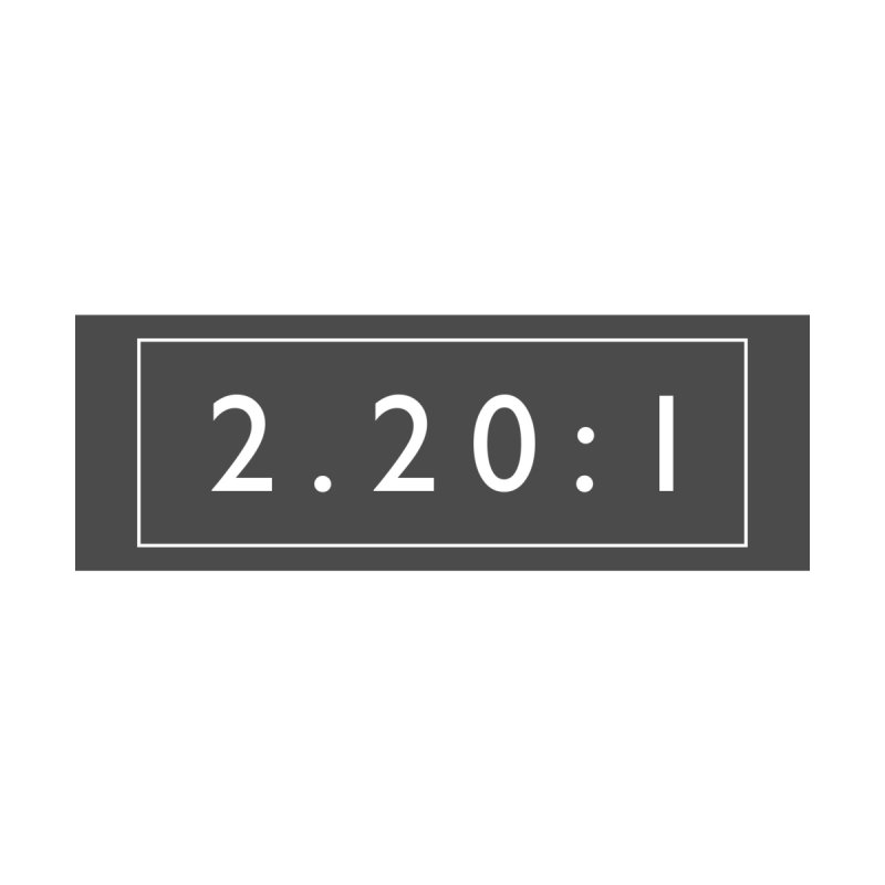2.20:1  |  logo  |  mug Accessories Mug by Extreme Toast's Artist Shop