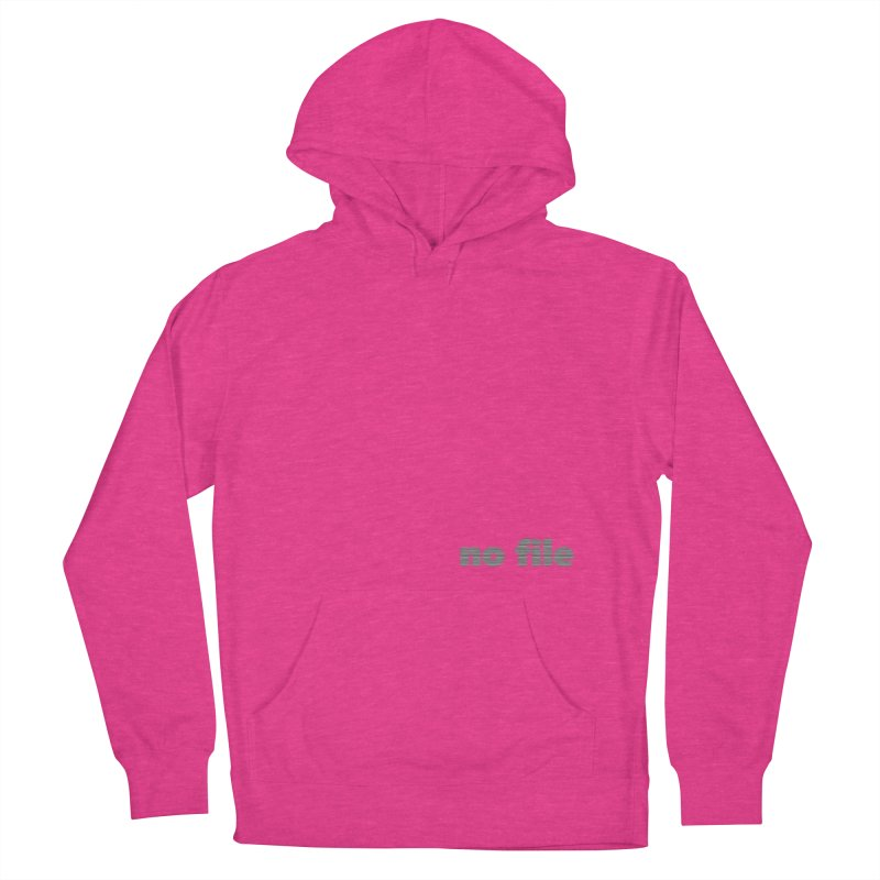 no file  |  text Women's French Terry Pullover Hoody by