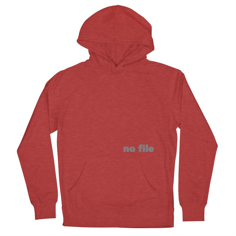 no file  |  text Men's French Terry Pullover Hoody by