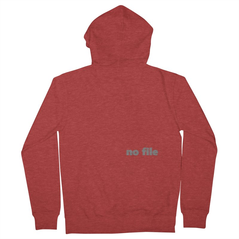 no file  |  text Women's French Terry Zip-Up Hoody by Extreme Toast's Artist Shop