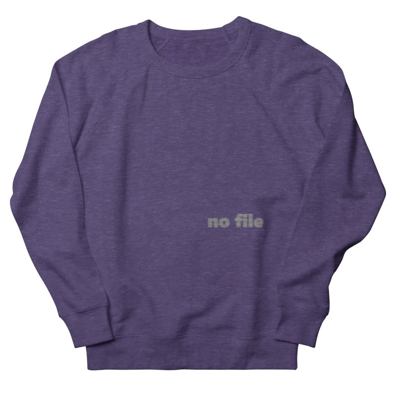 no file  |  text Men's French Terry Sweatshirt by