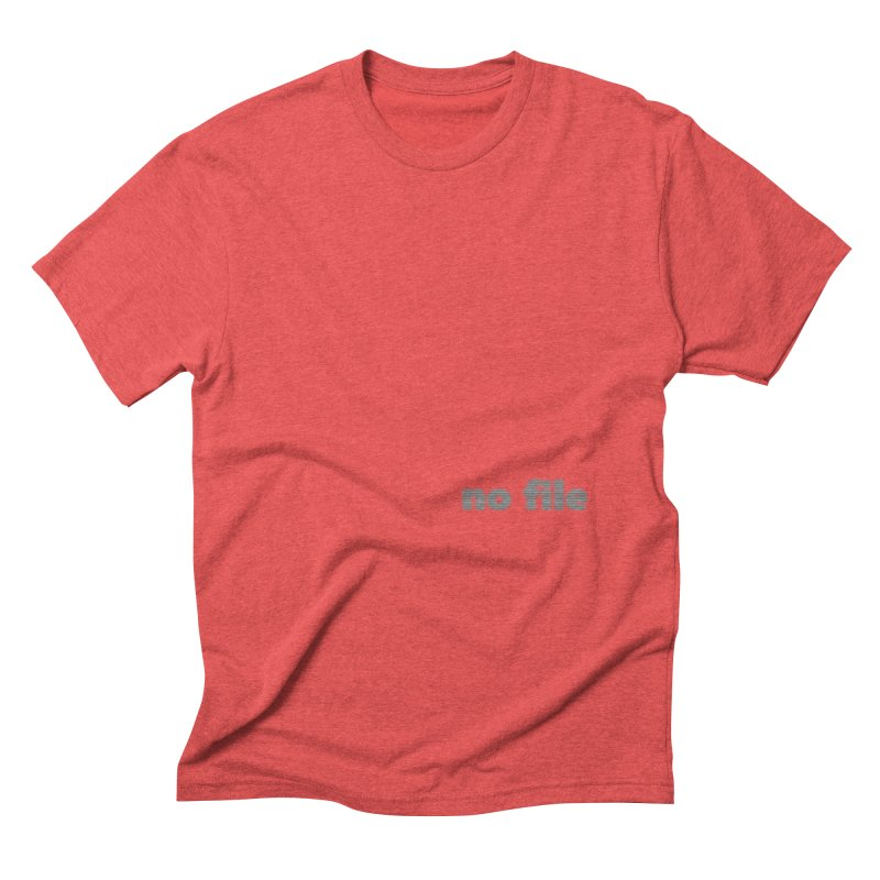 no file  |  text Men's Triblend T-Shirt by