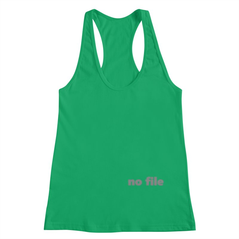 no file  |  text Women's Tank by Extreme Toast's Artist Shop