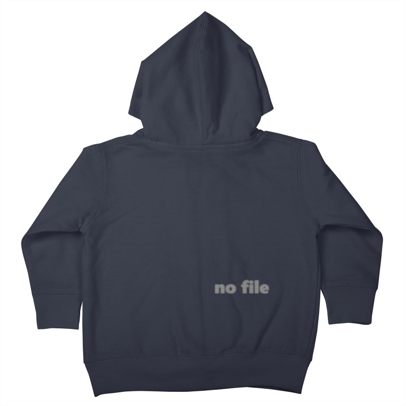 no file  |  text Kids Toddler Zip-Up Hoody by