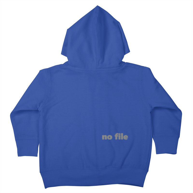 no file  |  text Kids Toddler Zip-Up Hoody by Extreme Toast's Artist Shop