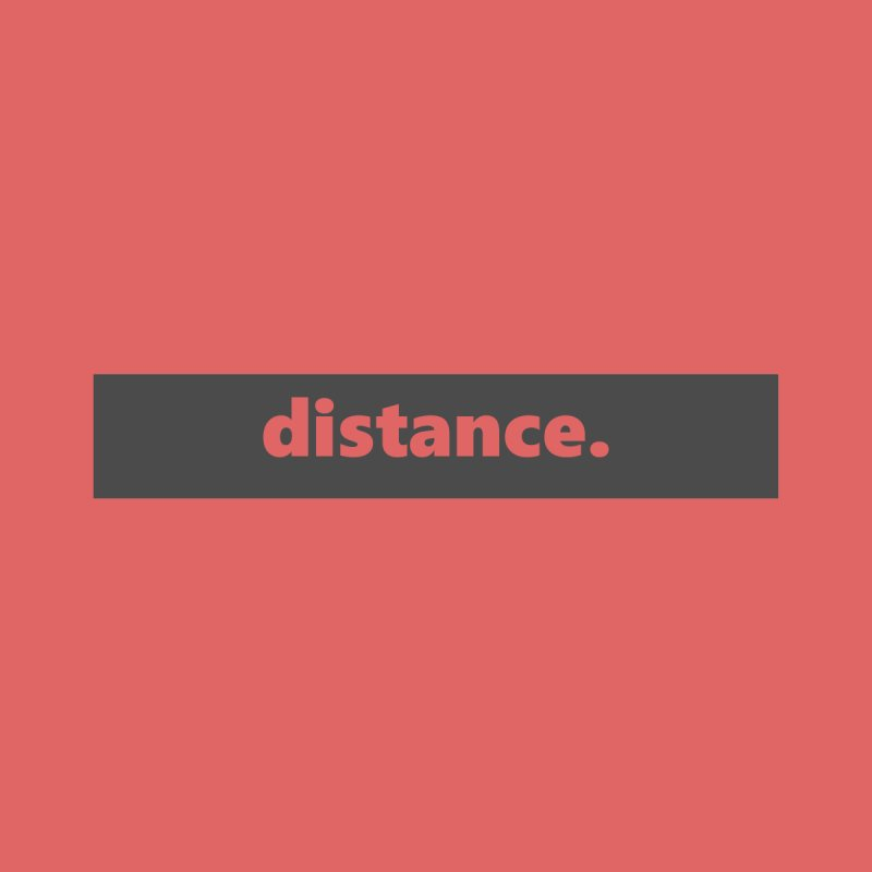 distance.  |  logo  |  dark Women's Sweatshirt by Extreme Toast's Artist Shop