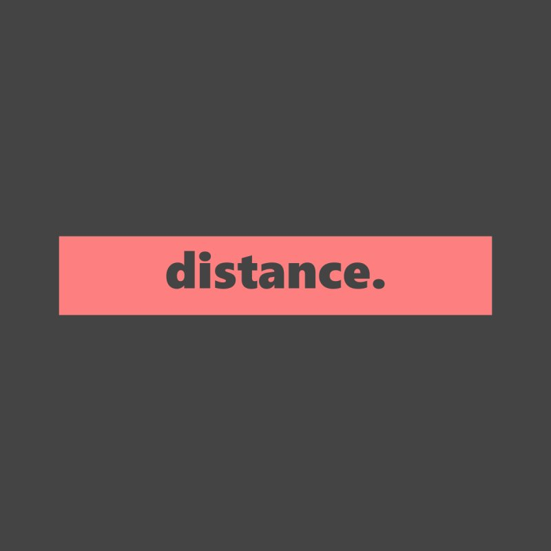 distance.  |  logo  |  light Women's Scoop Neck by Extreme Toast's Artist Shop