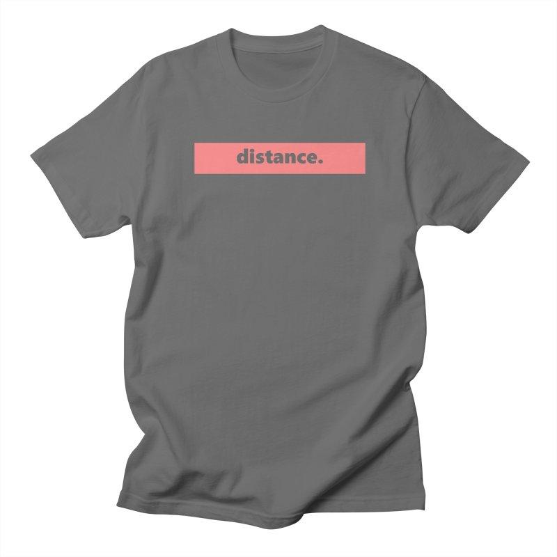 distance.  |  logo  |  light Men's T-Shirt by Extreme Toast's Artist Shop