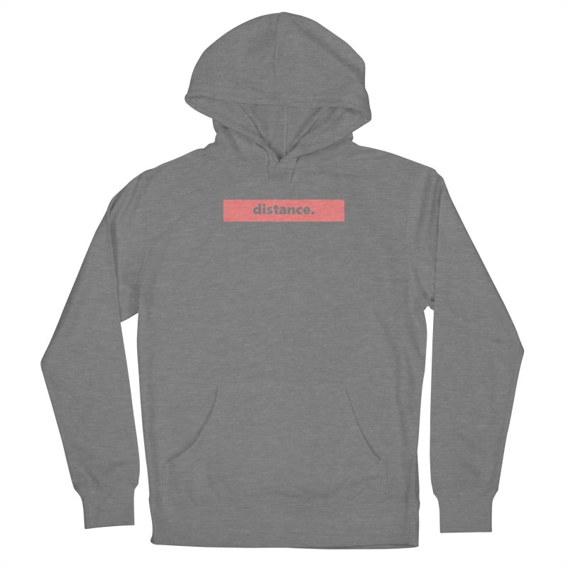 distance.  |  logo  |  light Women's Pullover Hoody by Extreme Toast's Artist Shop