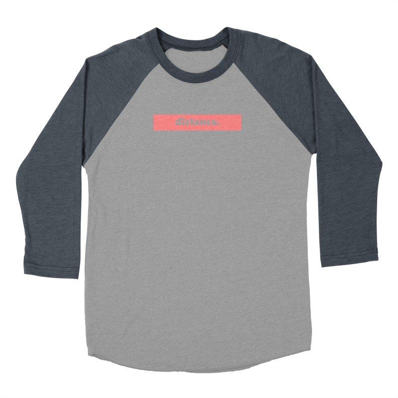 distance.  |  logo  |  light Women's Baseball Triblend Longsleeve T-Shirt by Extreme Toast's Artist Shop
