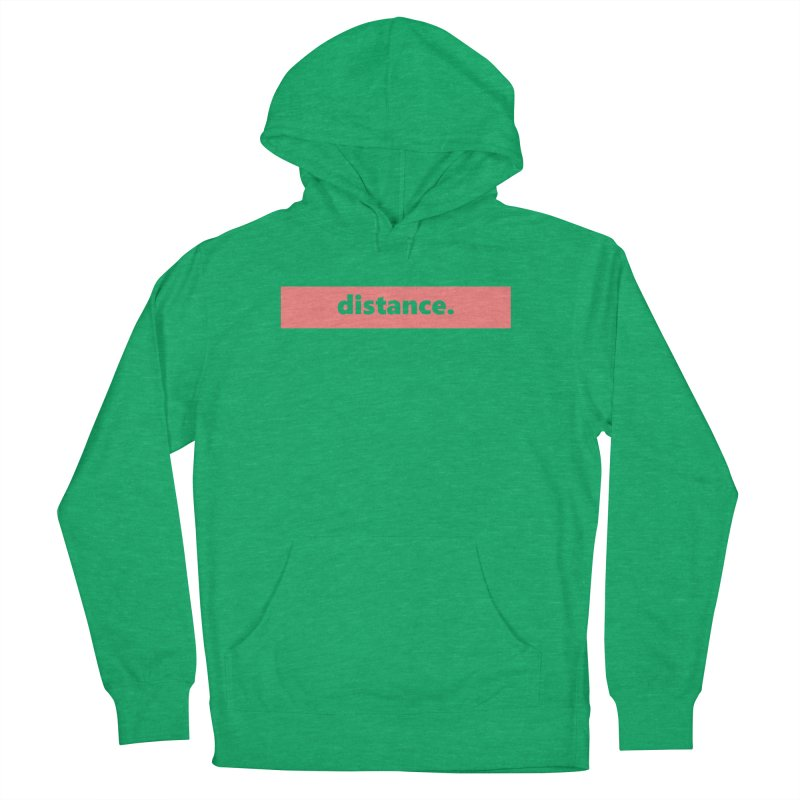 distance.  |  logo  |  light Women's French Terry Pullover Hoody by Extreme Toast's Artist Shop