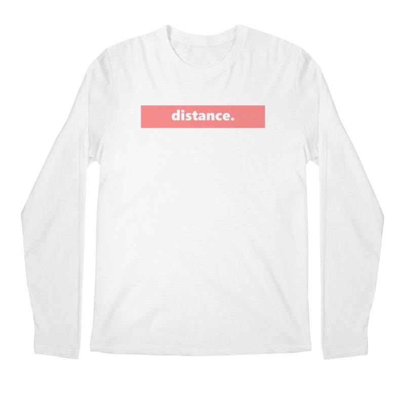 distance.  |  logo  |  light Men's Regular Longsleeve T-Shirt by