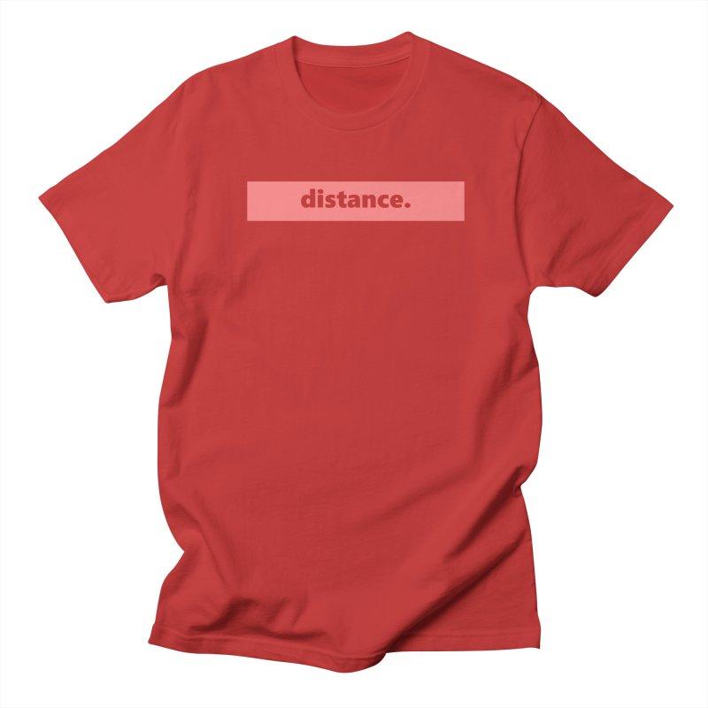 distance.  |  logo  |  light Women's Regular Unisex T-Shirt by