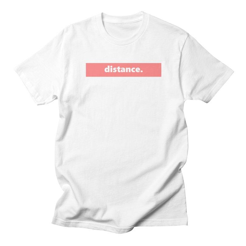 distance.     logo     light Men's Regular T-Shirt by Extreme Toast's Artist Shop