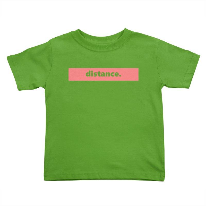 distance.  |  logo  |  light Kids Toddler T-Shirt by
