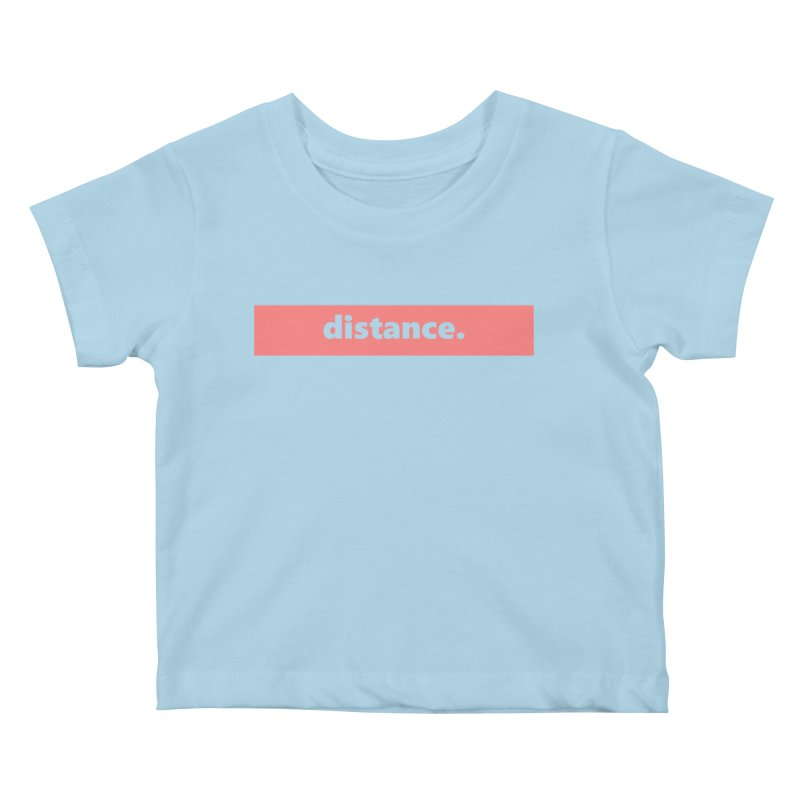 distance.  |  logo  |  light Kids Baby T-Shirt by