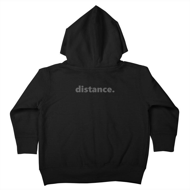 distance.  |  text  |  dark Kids Toddler Zip-Up Hoody by