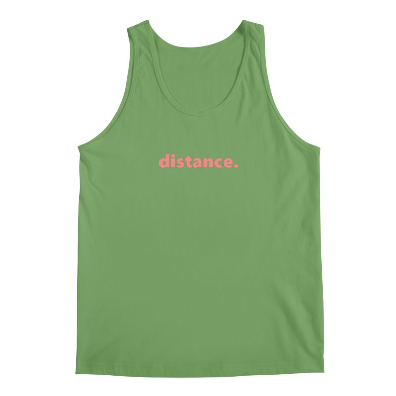distance.     text     light Men's Tank by Extreme Toast's Artist Shop