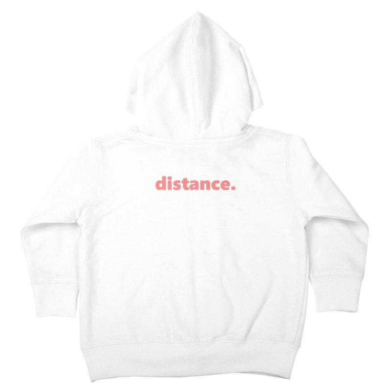 distance.  |  text  |  light Kids Toddler Zip-Up Hoody by