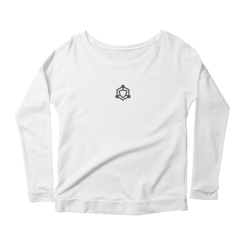 primer  |  logo Women's Scoop Neck Longsleeve T-Shirt by Extreme Toast's Artist Shop