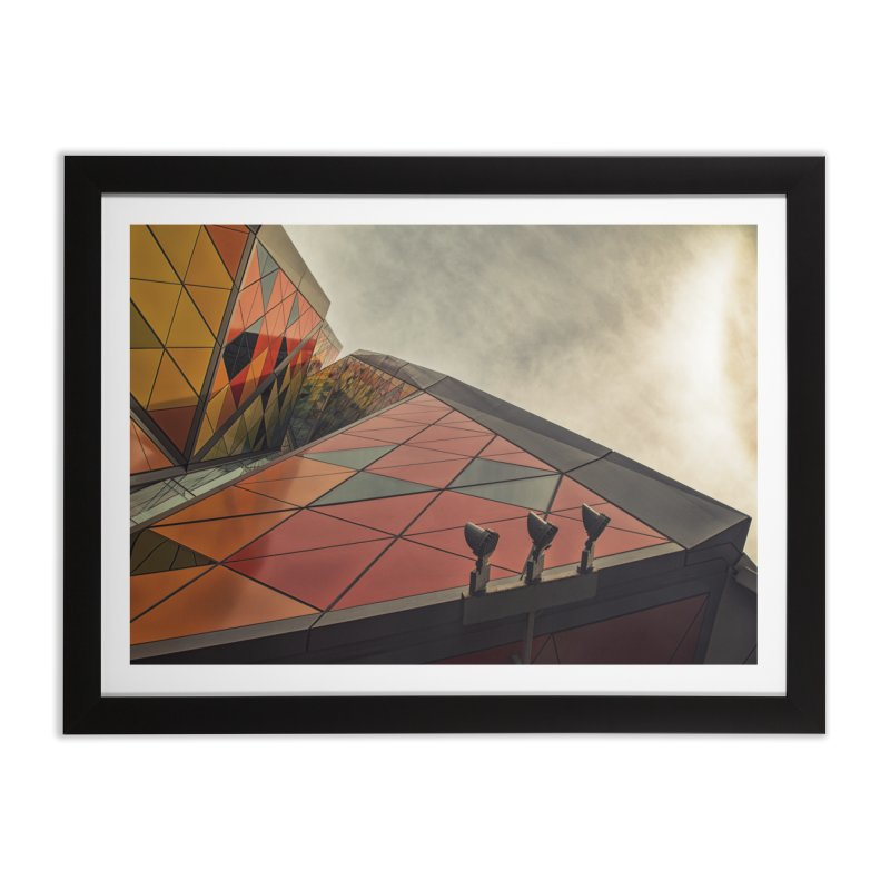 Fabric. Home Framed Fine Art Print by Extreme Toast's Artist Shop