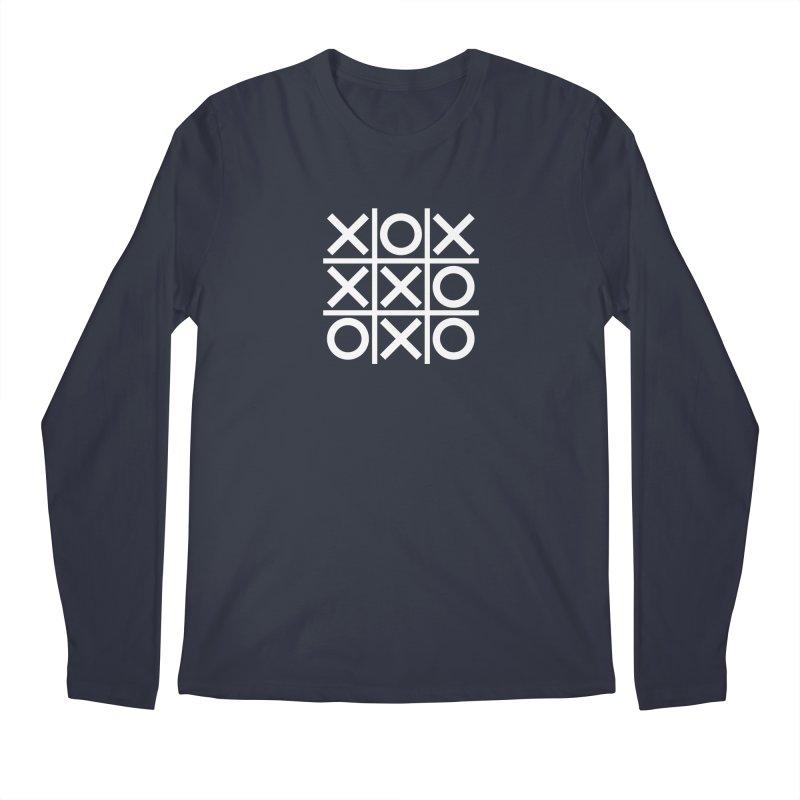 a strange game  |  logo Men's Regular Longsleeve T-Shirt by Extreme Toast's Artist Shop