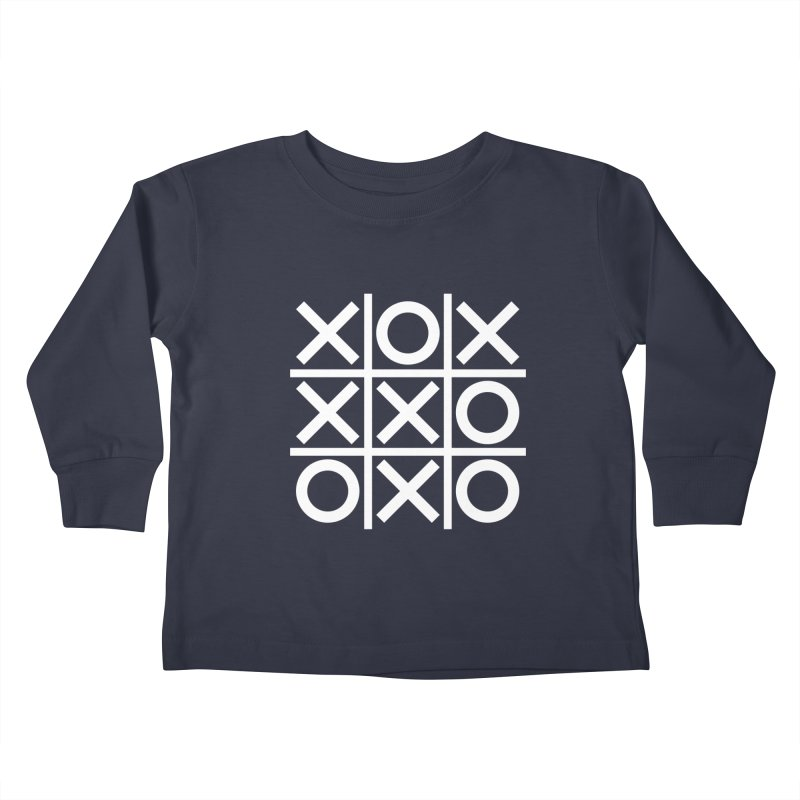 a strange game  |  logo Kids Toddler Longsleeve T-Shirt by Extreme Toast's Artist Shop