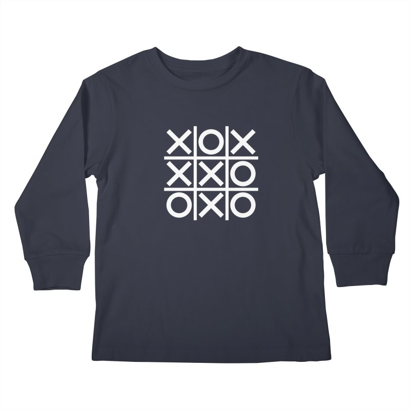 a strange game  |  logo Kids Longsleeve T-Shirt by