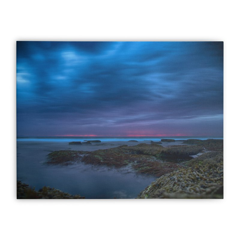 sunset Home Stretched Canvas by Extreme Toast's Artist Shop