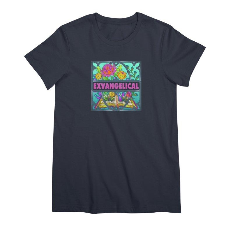 Exvangelical New Logo Full Color Women's T-Shirt by Exvangelical Podcast Merch