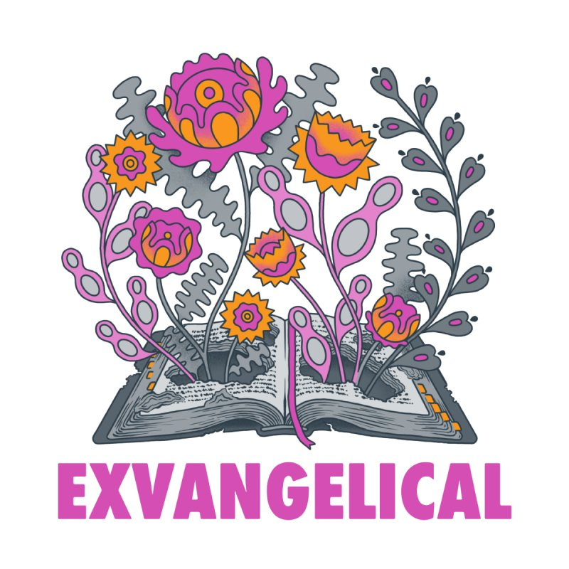 Exvangelical New Logo Simplified Design Accessories Face Mask by Exvangelical Podcast Merch