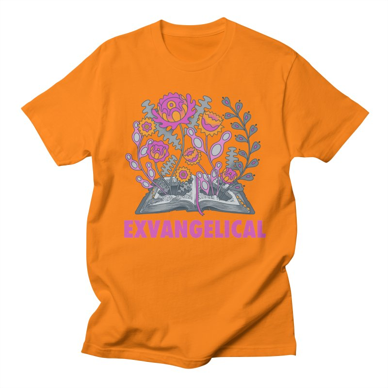 Exvangelical New Logo Simplified Design Men's T-Shirt by Exvangelical Podcast Merch