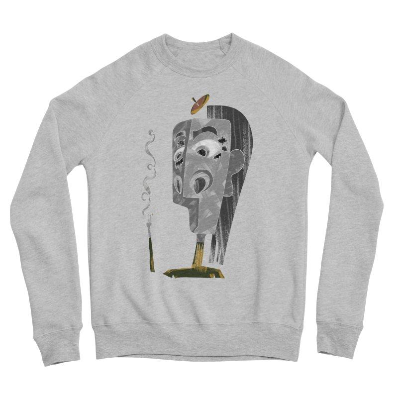 Unwinding in the Afterlife Women's Sponge Fleece Sweatshirt by Eyeball Girl Creative